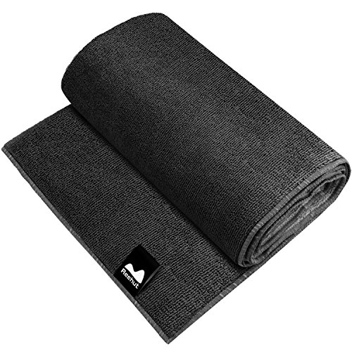 Reehut Hot Yoga Towel Microfiber Bikram Towel for Workout, Fitness and Pilates