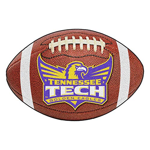 (FANMATS NCAA Tennessee Technological Univ Golden Eagles Nylon Face Football Rug)