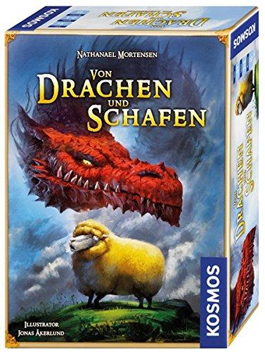 Kosmos 692438 - Von Drachen und Schafen, Kartenspiel