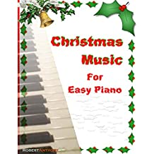 Christmas Music for Easy Piano
