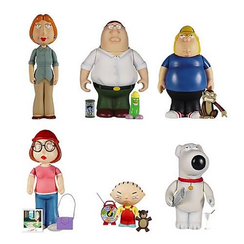 Distributoys Mezco Family Guy Mini Figure Deluxe Set