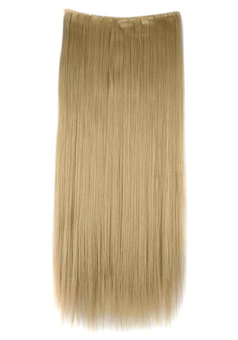 Florata 30 Inch Straight Smooth Clip In Hair Extensions Hairpieces