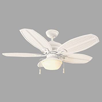 iii quot beach fans dp hampton matte bay outdoor fan palm indoor ceiling white