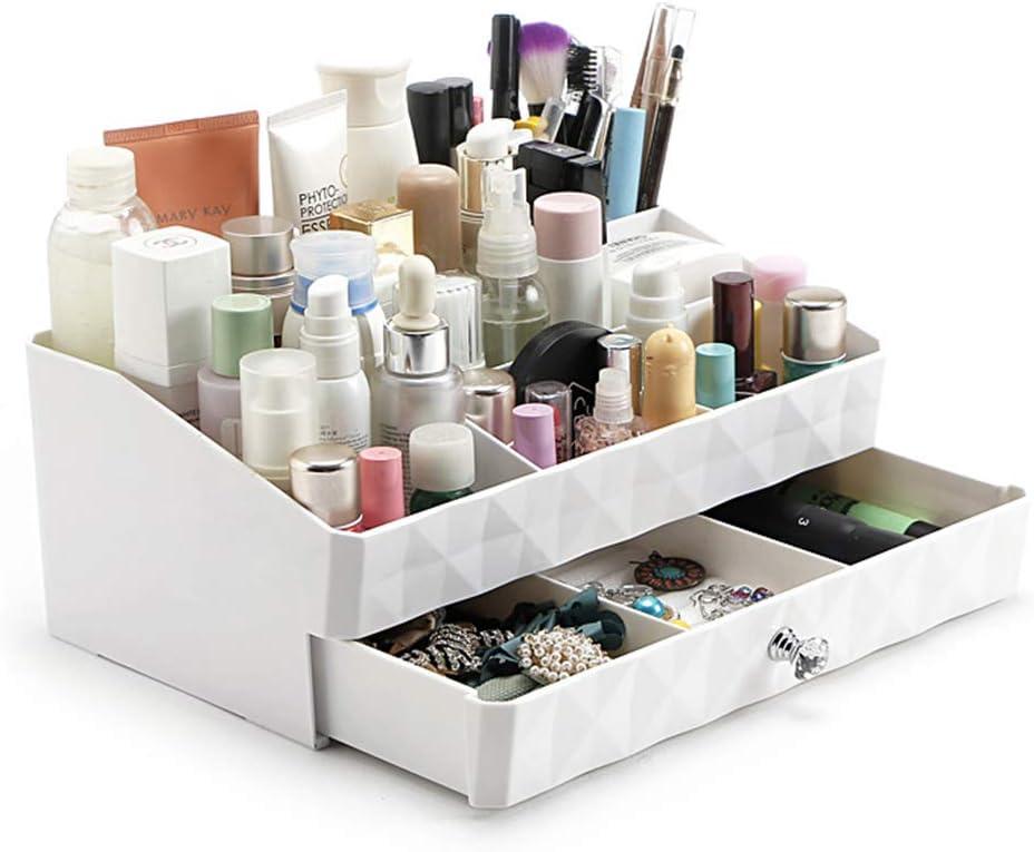 XXLlqdisplay Joyería Organizador 1 Drawers,Caja de Almacenamiento Multifuncional Organizador de Joyas Diseño Impermeable, Material Plástico