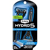 Schick Hydro 5 Disposable Razors - 3 ct, Pack of 7