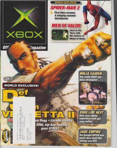 OXM: Official Xbox Magazine (May 2004, Def Jam Vendetta II, Ninja Gaiden, Men of Valor, Spider-Man 2, Jade Empire., Issue 31, May 2004)