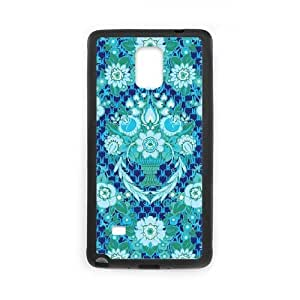 Cute TPU Case Garden Fete Midnight Samsung Galaxy Note 4 Cell Phone Case Black