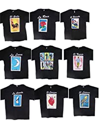 Lottery T-Shirts Mexican Assorted Styles Lot of 6 Pcs (MxTs300-6 Z