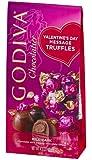 Godiva Valentine's Day Message Truffles Milk & Dark Chocolate