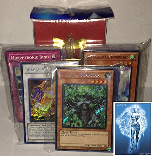 - YUGIOH Bulk Lot 4 Secrets 46 Holos 100 Commons with FREE Deck Box and exclusive Phantasm Gaming Token