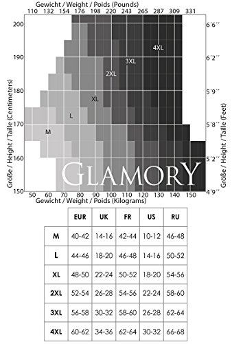 Glamory Dream, Liguero para Mujer, 20 DEN Weiß (Champagner)