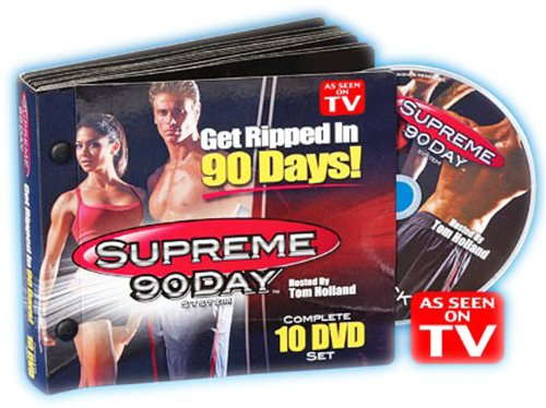 DDI As Seen On TV Supreme 90 Day Workout DVD Set Case Pack 3 by DDI