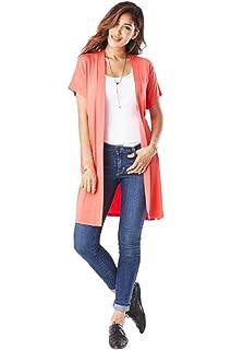 f3d3fada0239b Emmas Closet Women's Basic Long Sleeve V-Neck Top at Amazon Women's ...