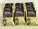 Cheap Yuca-Cassava chips lightly salted – 100% Natural – Kosher – Gluten free – NON GMO – 0g Trans Fat – (Pack of 12)