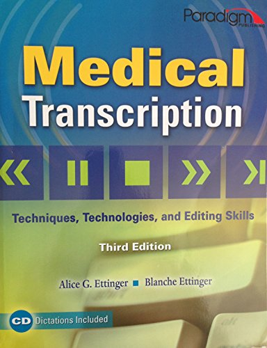Medical Transcription W/Cd