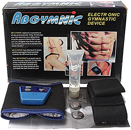 Sport Gymnic Muscle Waist Abdominal Massage Toning Slim Übungsgürtel Fit Ke J3Y2