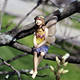 Miniature Fairy Garden Tree Hugger Cora