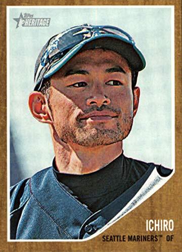 2011 Heritage Card - 2011 Topps Heritage #238 Ichiro Suzuki Mariners MLB Baseball Card NM-MT