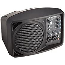 Mackie SRM150 Compact Powered PA System, Black