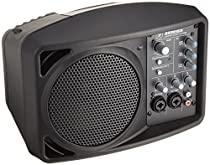 Mackie SRM150 5.25-Inch Compact Active PA System, Black