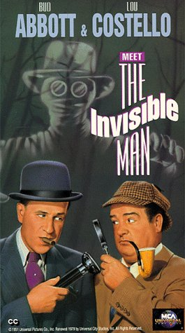 Abbott & Costello Meet The Invisible Man [VHS] -