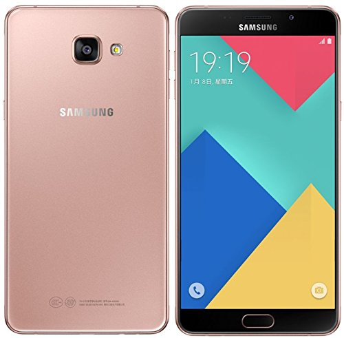 Samsung Galaxy A9 A9000 GSM Unlocked Cellphone (Pink Gold) - International Version No Warranty
