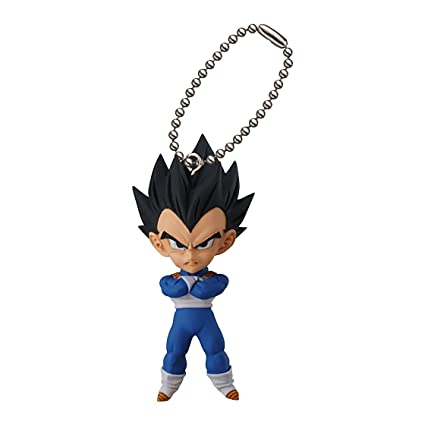 Matching World Dragon Ball Super UDM Burst 17 Vegeta Figure Keychain