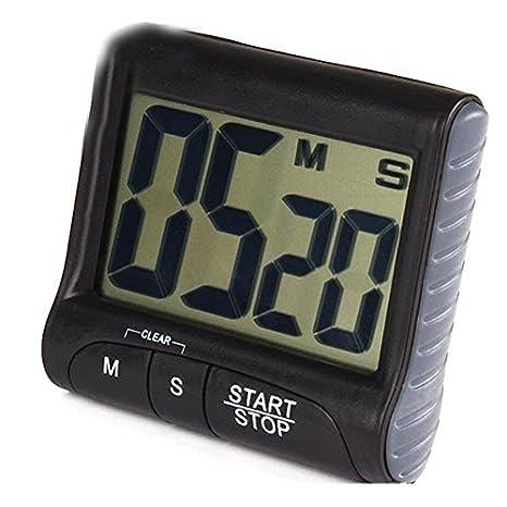 LAAT 1pc Temporizador de Cocina Digital Temporizador de Cocina Cuenta atrás- Reloj Up Reloj Temporizador