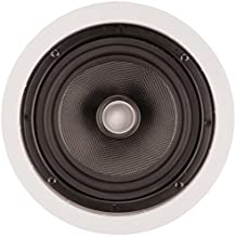 ArchiTech PS-601 Ceiling Speakers Pair 6.5 Kevlar Woofer 140W Max Consumer Electronics