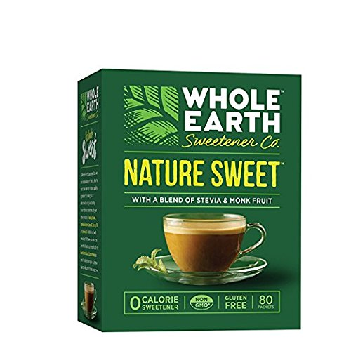 Whole Earth Nature Sweet With Stevia & Monk Fruit Sweetener 5.6oz (Pack of 2) (Pack of 2)