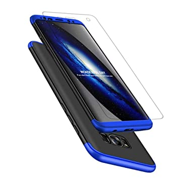 AChris Samsung Galaxy S8 Plus Funda PC Hard Carcasa Case Cover para Samsung Galaxy S8 Plus Ultra-Delgado Antichoque Antideslizante Moda Funda- Negro ...