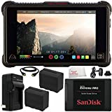 "Atomos Ninja Inferno 7"" 4K HDMI Recording Monitor 7PC Bundle – Includes SanDisk 240GB Extreme Pro Solid State Drive + 2x Replacement Batteries + MORE"
