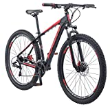 Schwinn Bonafide Mountain Bike with Front Suspension, Featuring...