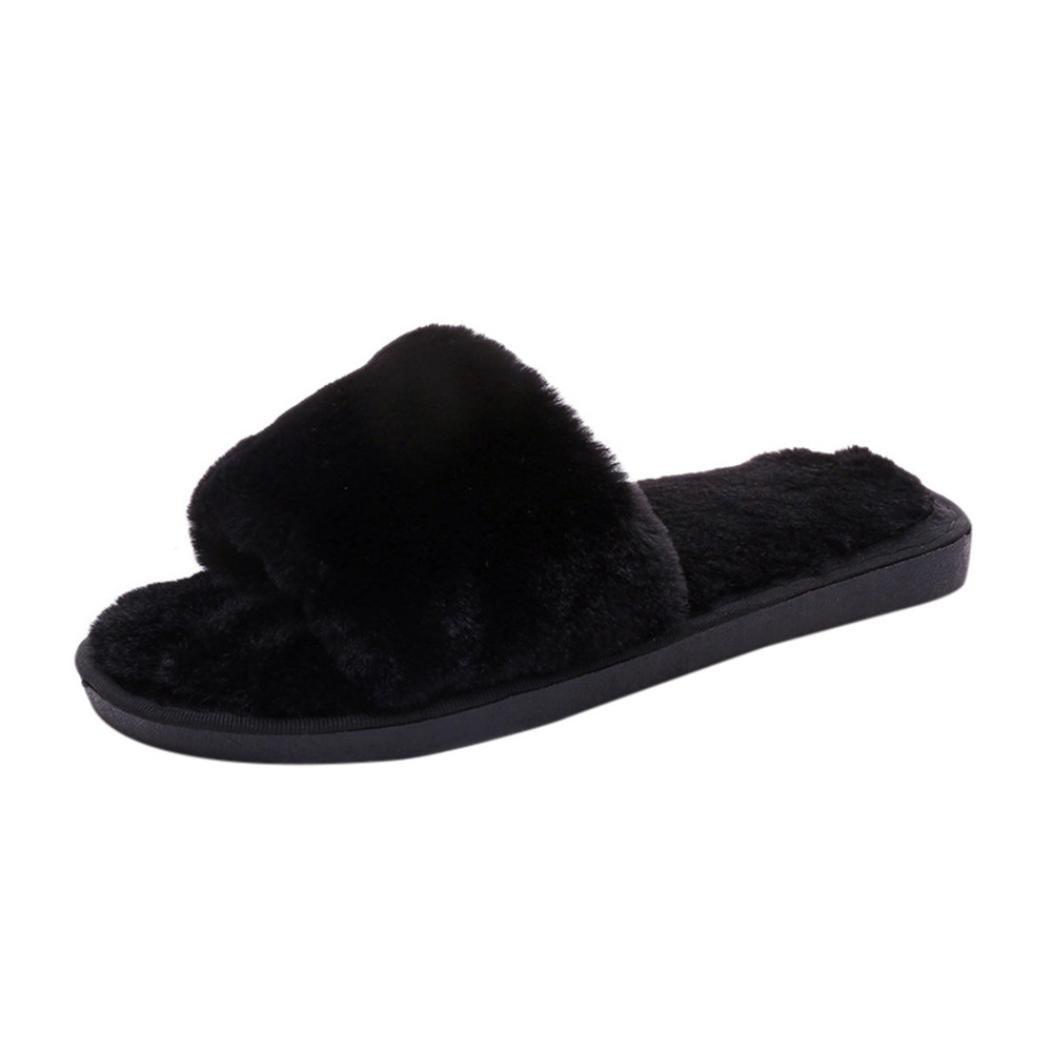 9af354d9fe6d3c Byste Fluffy Faux Fur Sandal