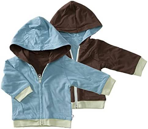Babysoy Year Round Reversible Hoodie