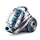 PUPPYOO WP9002F Powerful Bagless Cylinder Vacuum Cleaner 800W Multi-Cyclone System Low Noise