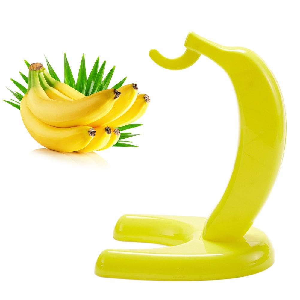Yardwe 2 UNIDS Planta Fruta Pl/ástico Colgante Soporte Titular Banana En forma de soporte para la decoraci/ón de la cocina en casa