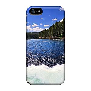 High Quality WXf34809OzUT Crisp Yellowsone River Cases For Iphone 5/5s