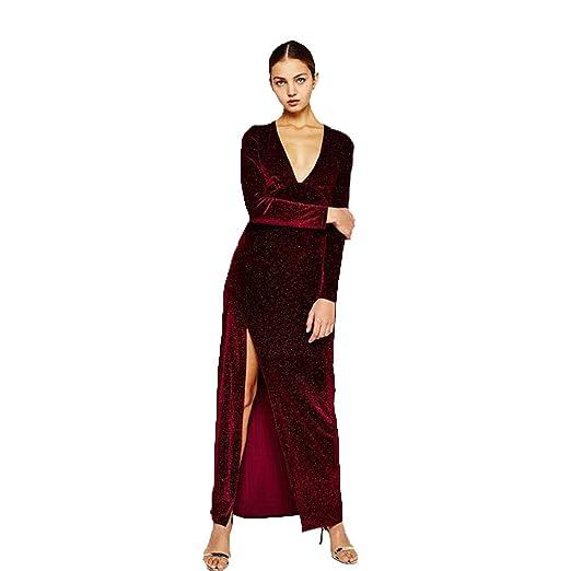 Dress Party Mujer Vestido,Cosplay Medieval Retro Cuello V Profundo ...