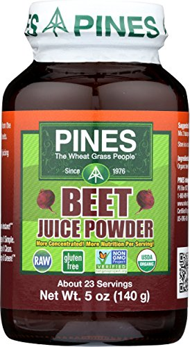 PINES Organic Beet Juice Powder, 5 Ounce