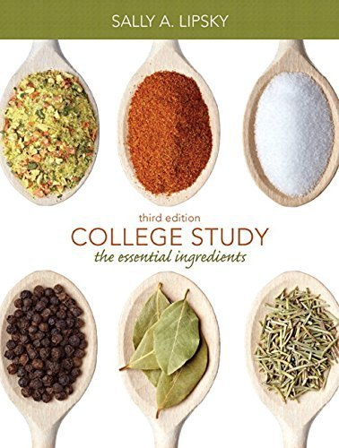 College Study: The Essential Ingredients Plus NEW MyStudentSuccessLab Update -- Access Card Package by Lipsky, Sally A.(September 1, 2014) Paperback