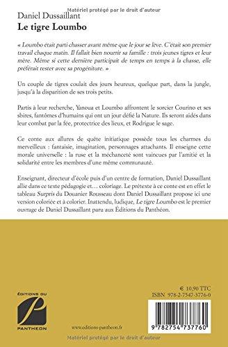 Le Tigre Loumbo Amazoncouk Daniel Dussaillant 9782754737760 Books