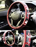 eing Car Steering Wheel Cover Football Team
