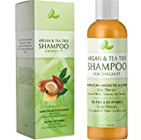Argan & Tea Tree Shampoo for Dandruff With Moroccan Argan Oil and Jojoba for Shiny + Smooth Hair Tea Tree Lavender and Rosemary Reduces Dandruff and Cleans The Scalp For Women & Men by Honeydew