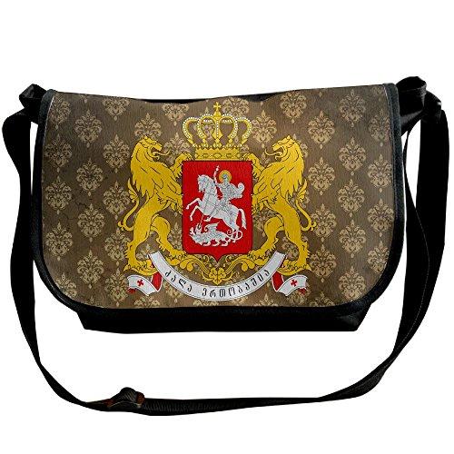 Lov6eoorheeb Unisex Coat Of Arms Of Georgia (country) Wide Diagonal Shoulder Bag Adjustable Shoulder Tote Bag Single Shoulder Backpack For Work,School,Daily by Lov6eoorheeb (Image #5)