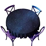 inspiring modern corner shower Beihai1Sun Round Outdoor Tablecloth,Night Space with Billion Stars Inspiring View Nebula Galaxy Cosmos Infinite Universe,Modern Minimalist,40 INCH,Dark Blue White