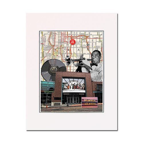 Amazon.com: Kansas City, American Jazz Museum, art print. Enhance ...