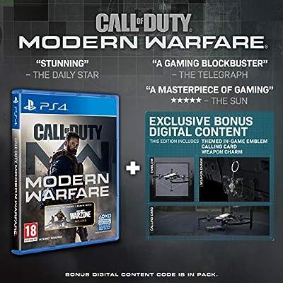Call of Duty: Modern Warfare (PS4) (Exclusive to Amazon.co.uk) [Importación inglesa]: Amazon.es: Videojuegos