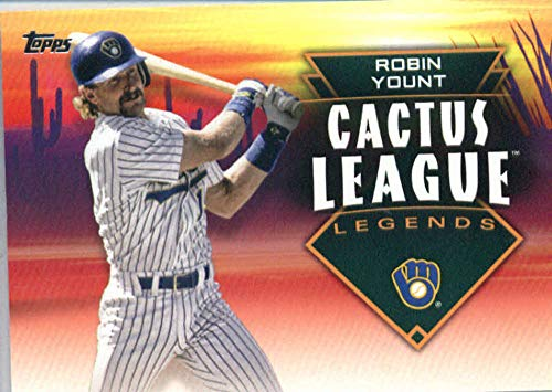 2019 Topps Cactus League Legends Baseball #CLL-29 Robin Yount Milwaukee Brewers Official MLB Trading Card