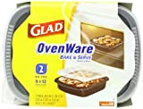 Glad Food Storage Containers, OvenWare 9x12 - 96 oz - 2 ct